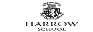 harrow school black logo